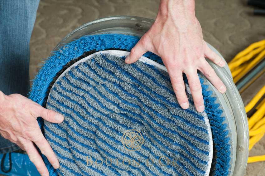 Nettoyage de tapis à sec